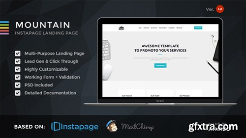 ThemeForest - Mountain v1.0 - Marketing Instapage Template - 19227857