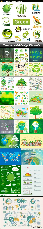 Environmental Design Elements - 25 EPS