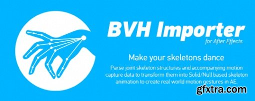 BVH Importer 1.5 for After Effects