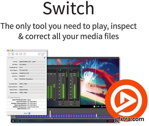 Telestream Switch Pro 4.5.6.10227 Multilingual macOS