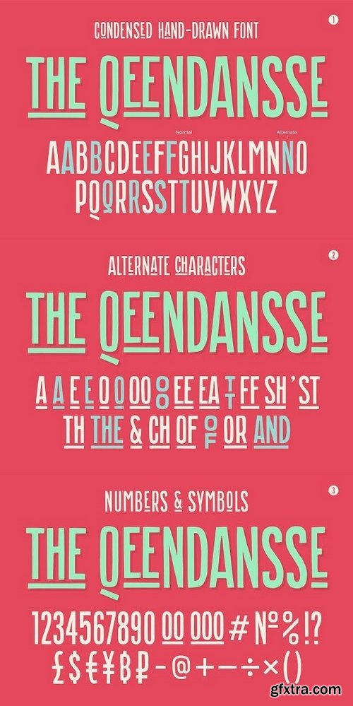 CM - Hand-drawn font the Qeendansse 1286471