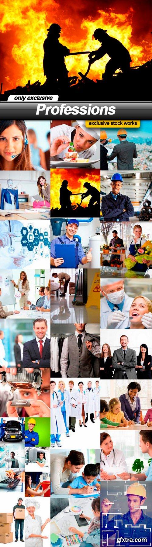 Professions - 30 UHQ JPEG