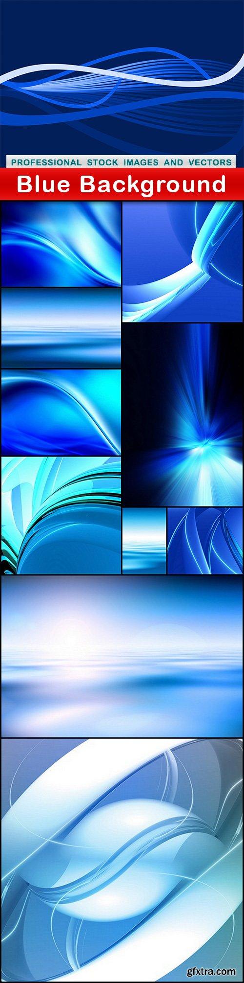 Blue Background - 11 UHQ JPEG