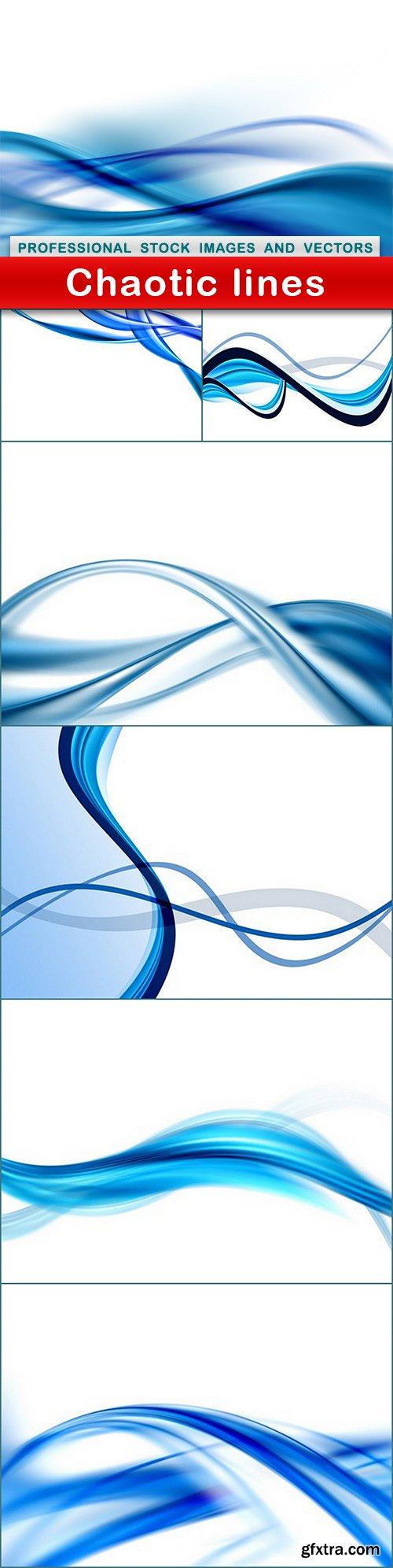 Chaotic lines - 7 UHQ JPEG