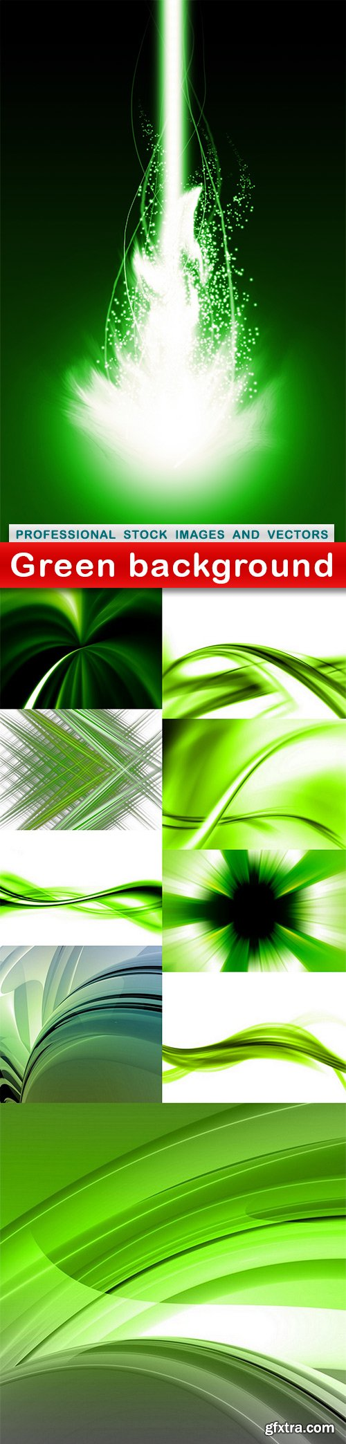 Green background - 11 UHQ JPEG