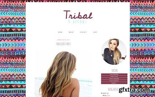 Tribal Blogger Template - CM 431849