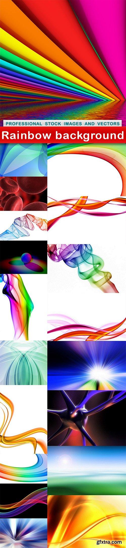 Rainbow background - 19 UHQ JPEG