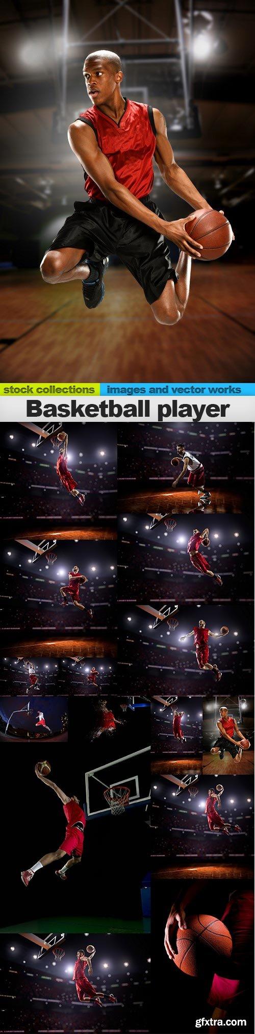 Basketball player, 15 x UHQ JPEG