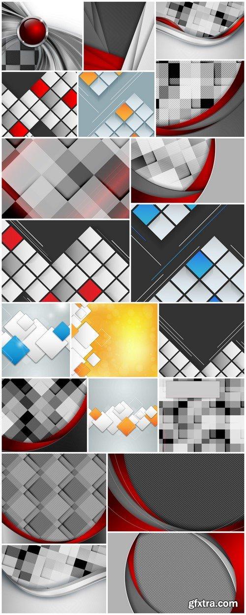 Abstract template 20X JPEG