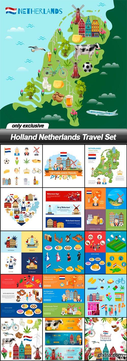 Holland Netherlands Travel Set - 16 EPS