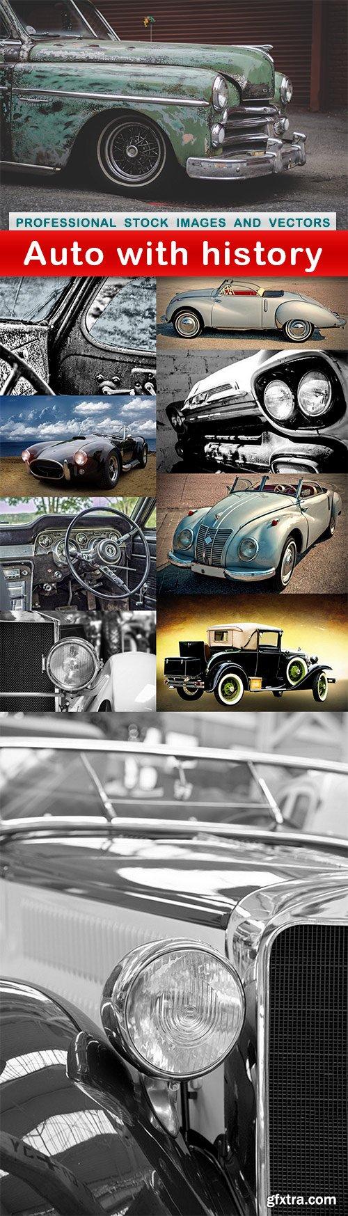 Auto with history - 10 UHQ JPEG