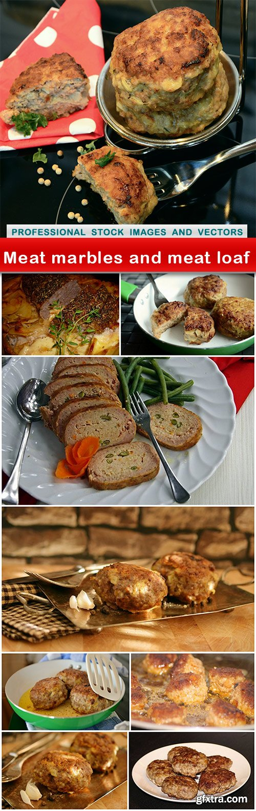 Meat marbles and meat loaf - 9 UHQ JPEG