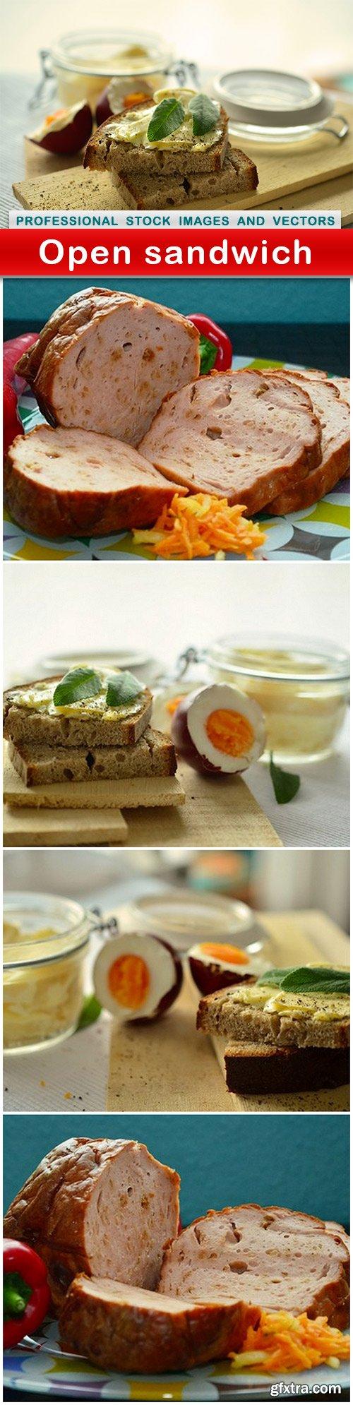 Open sandwich - 5 UHQ JPEG
