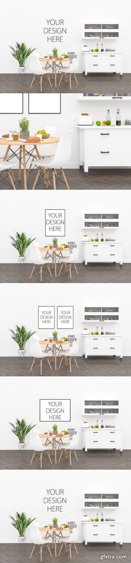 CM - Poster mockup - kitchen mockup 1516168