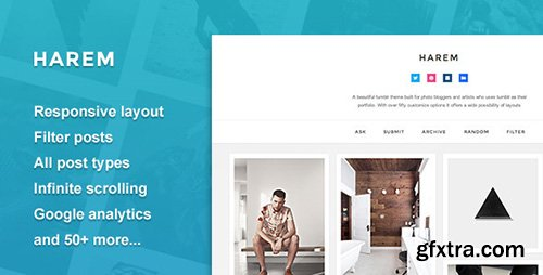 ThemeForest - Harem - Responsive Header Theme (Update: 25 April 17) - 7022593