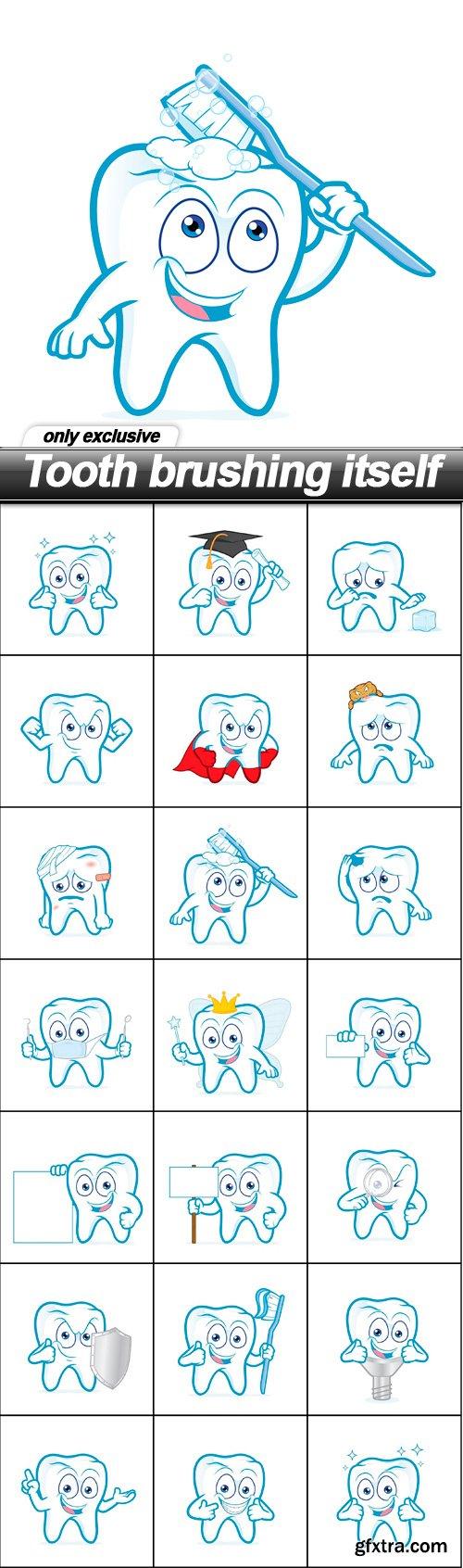 Tooth brushing itself - 20 EPS