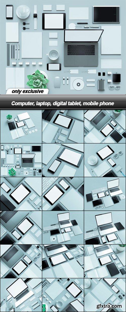 Computer, laptop, digital tablet, mobile phone - 18 UHQ JPEG