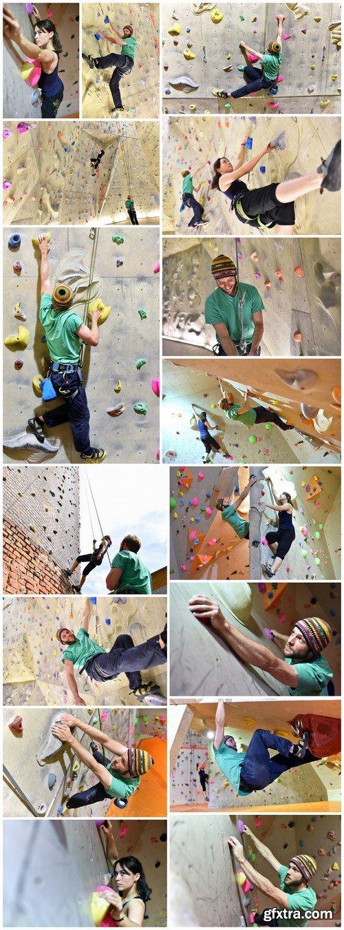 Climbing wall 16X JPEG