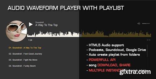 CodeCanyon - Audio Waveform Player with Playlist v1.1 - 18420897
