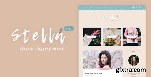 ThemeForest - Stella v1.0 - Classic & Sweet Blogging Theme - 20140343
