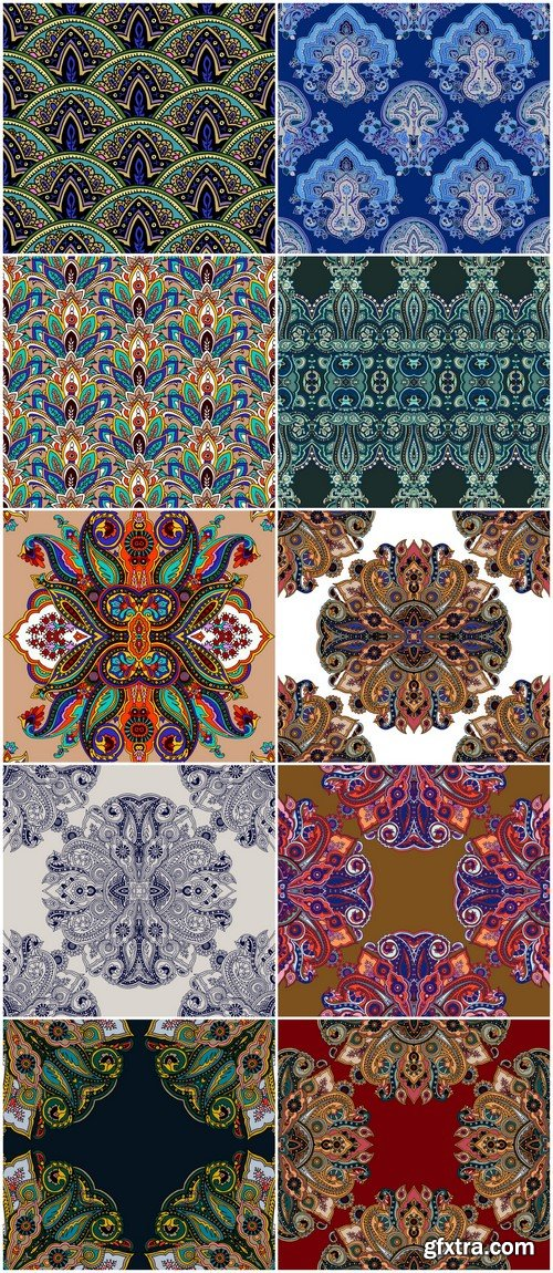 Seamless pattern ornament #2 10X EPS
