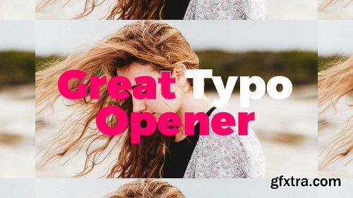 Videohive Dynamic Typo Opener 19567203