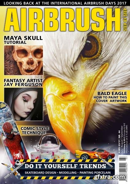 Airbrush Step by Step - July-August-September 2017 (English Edition)