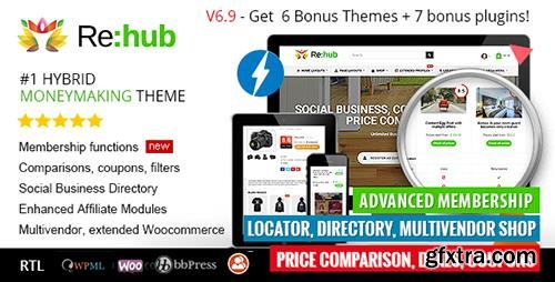 ThemeForest - REHub v6 9 4 - Price Comparison, Affiliate