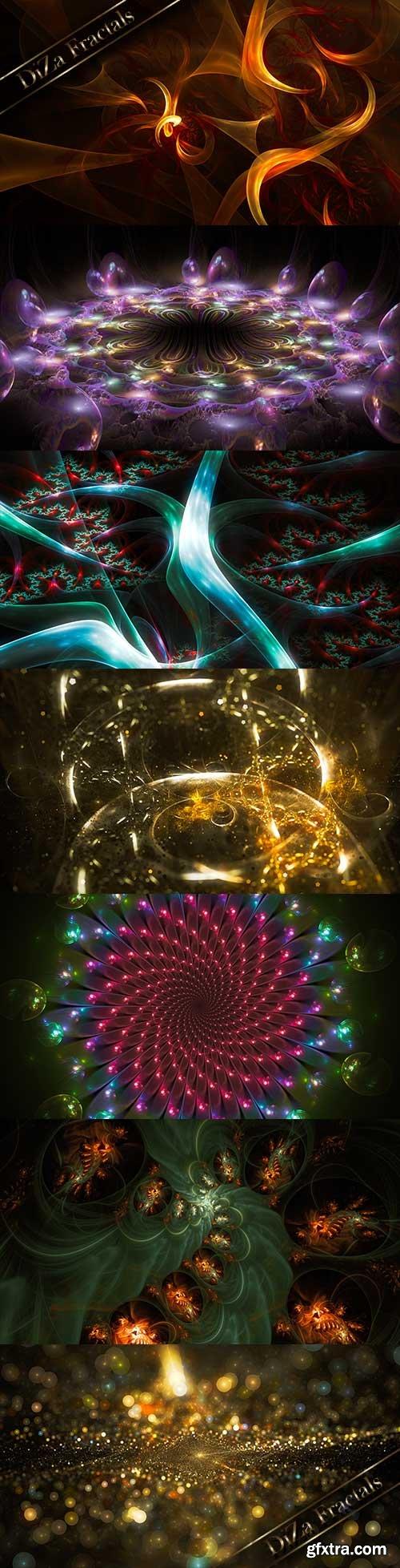 Extraterrestrial world of fractals - 3