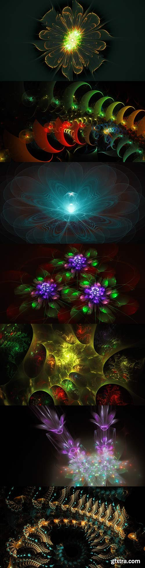 Extraterrestrial world of fractals - 4