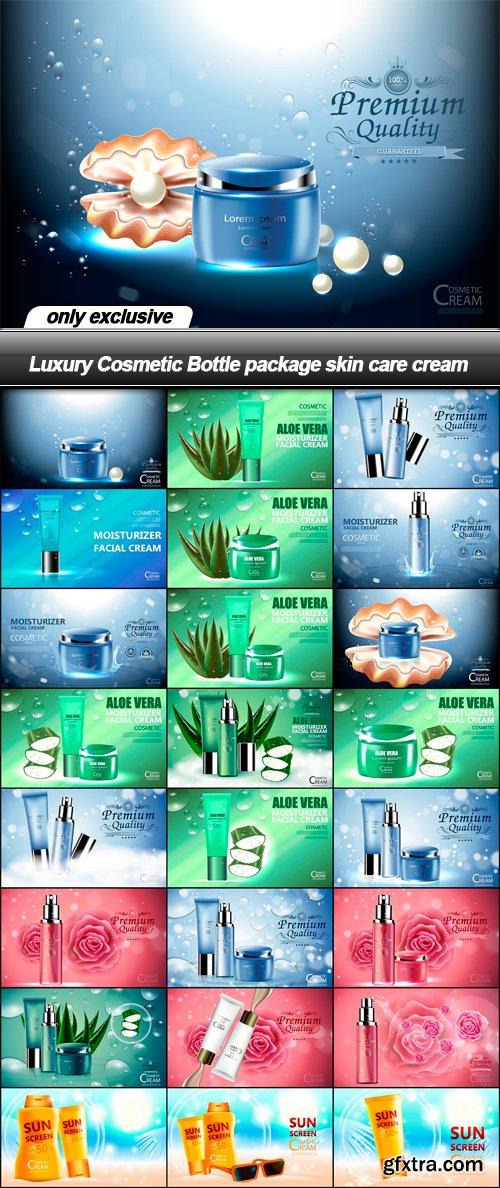 Luxury Cosmetic Bottle package skin care cream - 25 EPS