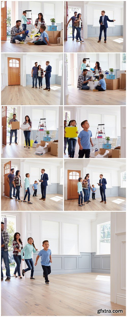 Couple Moving Into New Home Together 9X JPEG