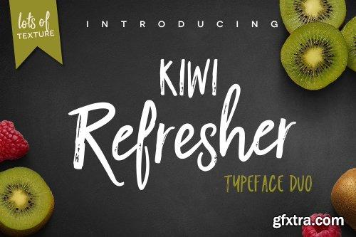 CreativeMarket Kiwi Refresher Font Duo 1623573