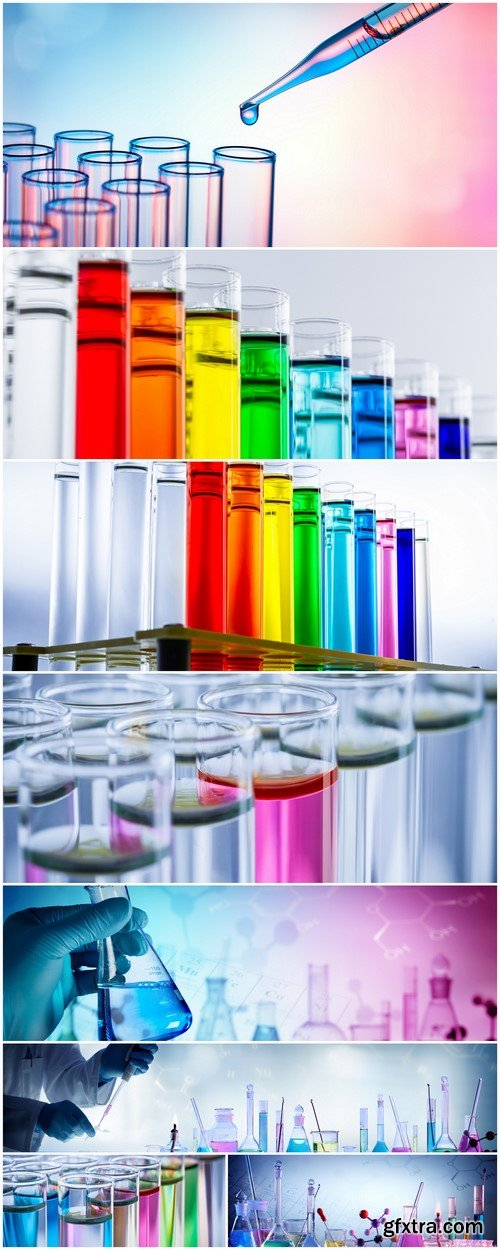 laboratory, chemical reaction 8X JPEG
