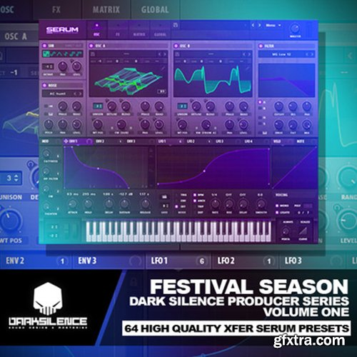 Dark Silence Sound Design Dark Silence Festival Season For Serum-FANTASTiC