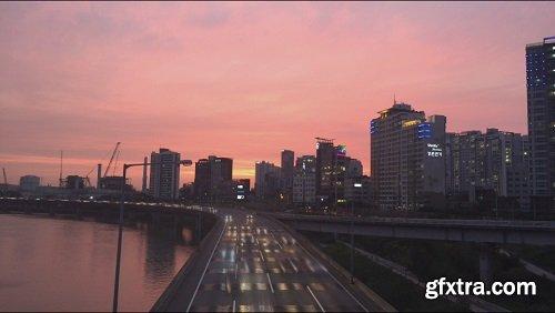Seogang bridge seoul korea sunset
