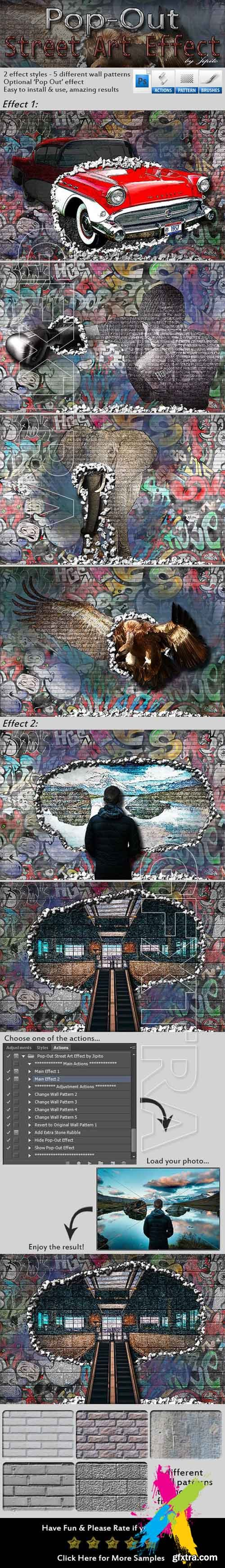 Graphicriver - Pop-Out Street Art Effect 20273404