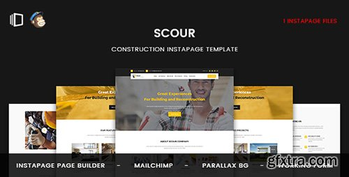 ThemeForest - Scour v1.0 - Construction Instapage Template - 19903168
