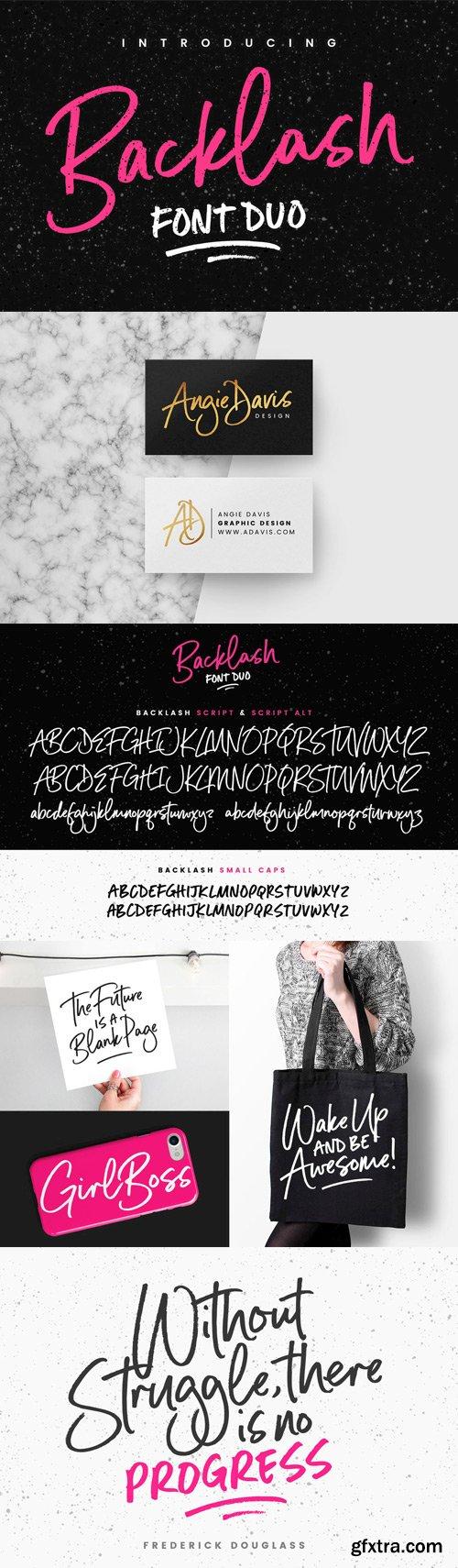 CM - Backlash Font Duo - 1694188