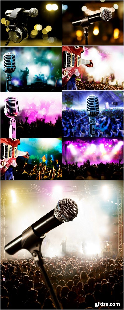 Background music microphone 9X JPEG