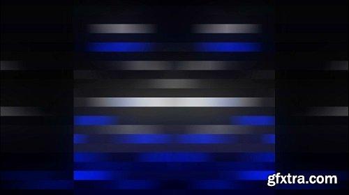 Minimal Blue Wall