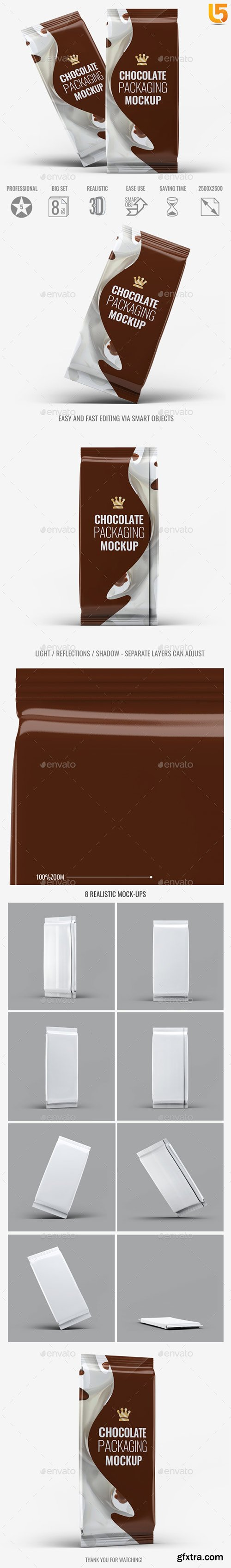 Graphicriver - Chocolate Packaging Mock-Up 20413023
