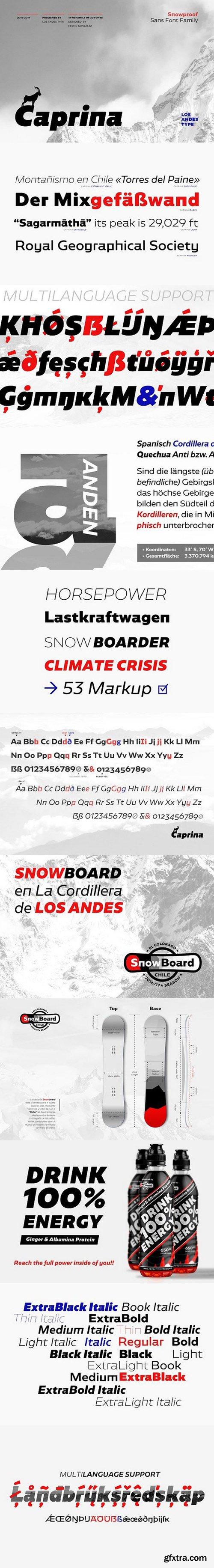 CM - Caprina Slab Serif Fonts 1656352
