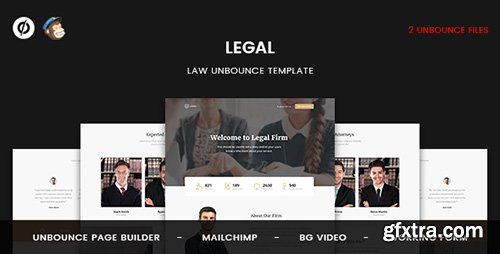 ThemeForest - Legal v1.0 - Law Unbounce Template - 19745351