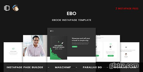 ThemeForest - Ebo v1.0 - Ebook Instapage Template - 19982391