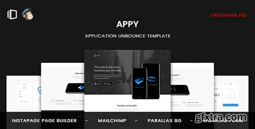 ThemeForest - Appy v1.0 - Application Instapage Template - 20056051