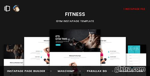 ThemeForest - Fitness v1.0 - GYM Instapage Template - 20154795