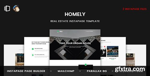 ThemeForest - Homely v1.0 - Real Estate Instapage Template - 19752436