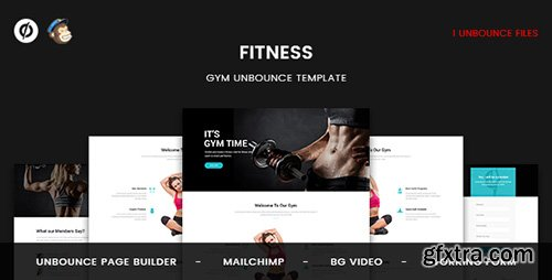 ThemeForest - Fitness v1.0 - GYM Unbounce Template - 20039876