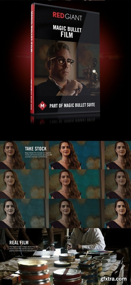 Red Giant Magic Bullet Film 1.2.0 (x64)